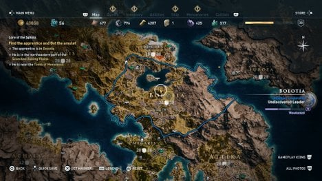 Assassin's Creed Odyssey How to Unlock the Sphinx Quest - Naguide