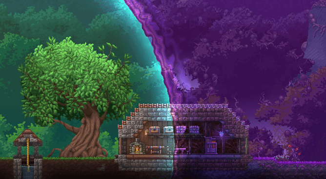 Terraria - How to Survive the First Night - Naguide
