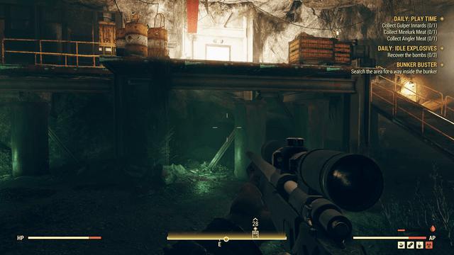 Fallout 76 - Accessing the Bunker Walkthrough - Naguide