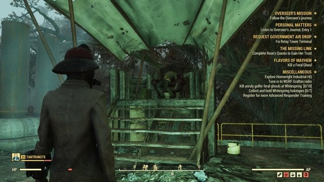 Fallout 76 - Steal From Super Mutant Camp Quest - Naguide