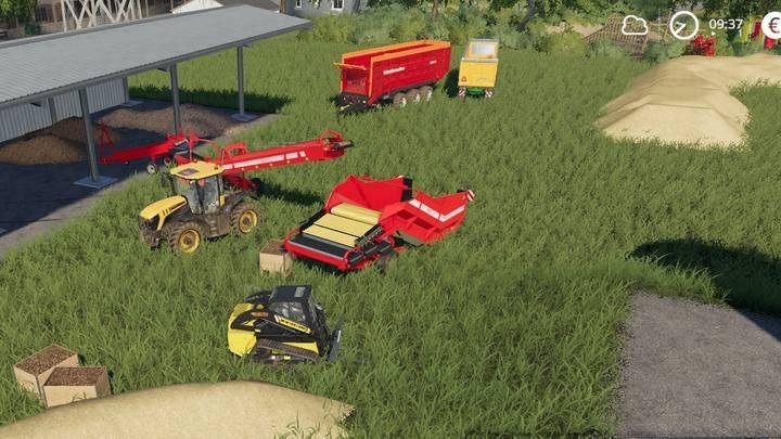 Farming Simulator 19 Set To Work Belt System Naguide