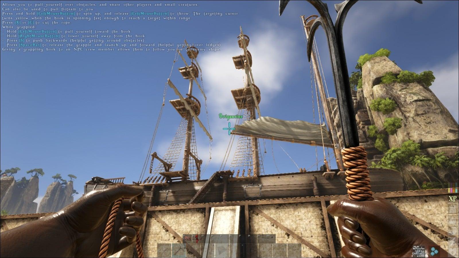 Atlas - Brigantine Ship How to Build ? - Naguide
