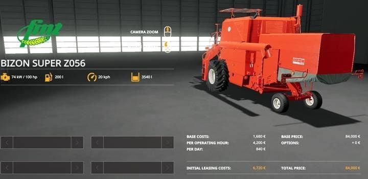 Farming Simulator 19 - Harvester Mods - Naguide