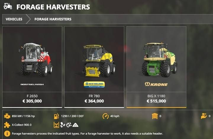 Farming Simulator 19 - Harvester Mods - Naguide