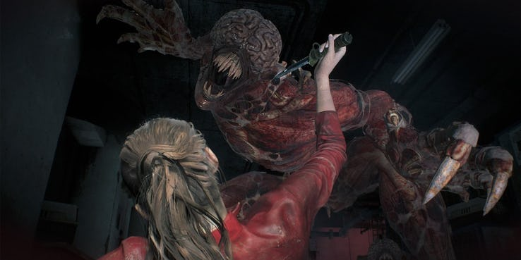 Resident Evil 2 Remake - Licker How to Kill ? - Naguide