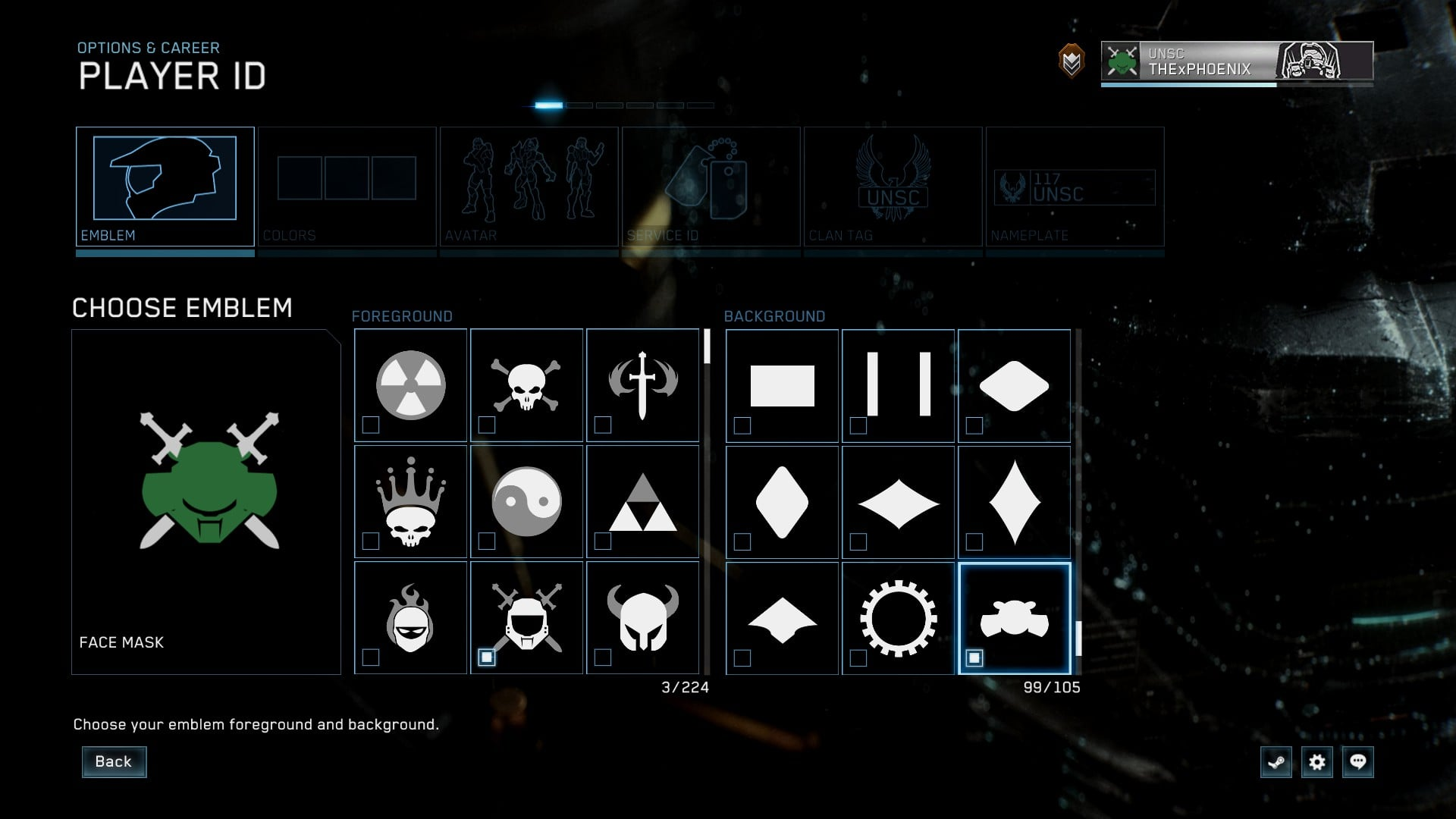 Halo The Master Chief Collection Emblem Ideas Naguide