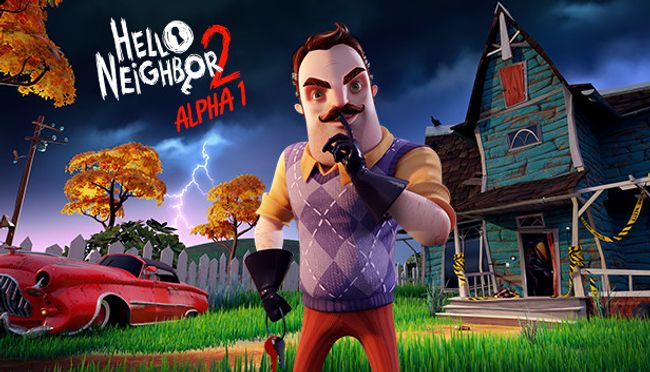 Hello Neighbor 2 Alpha 1 Escape From Crow Man Naguide