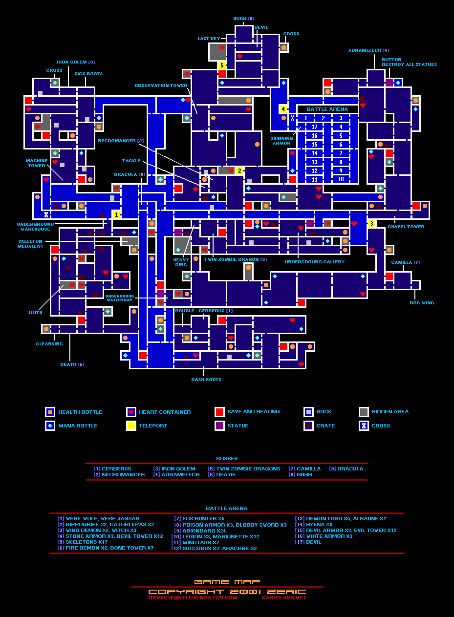 Collectibles Maps