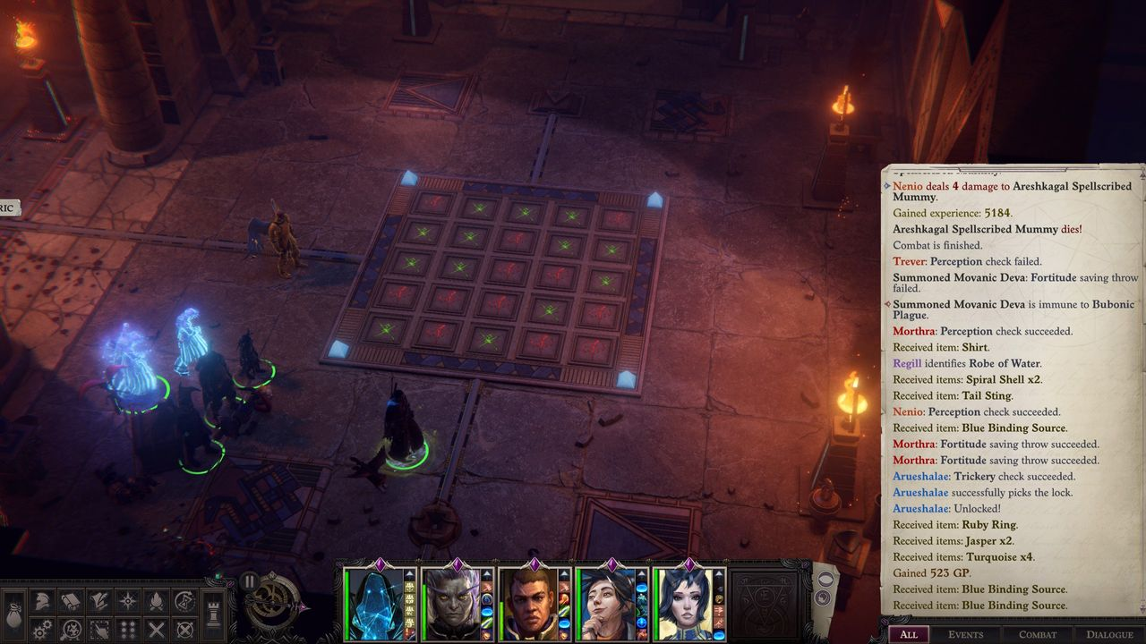 Pathfinder Wrath of the Righteous The Enigma Puzzle Solutions & Walkthrough